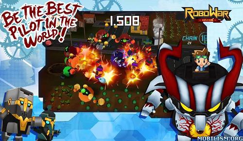ROBOWAR - Robot VS Alien v1.2 (Mod Money) Apk