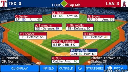 MLB Manager 2016 v6.0.7 + Mod Apk