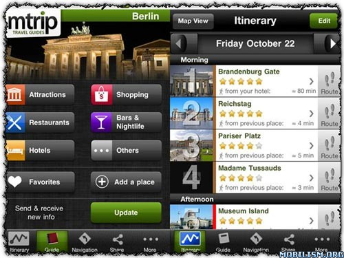 Berlin Travel Guide - mTrip v2.0.5