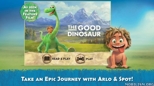 Good Dinosaur Storybook Deluxe v1.0 Apk
