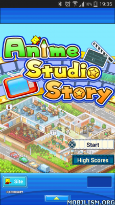 Anime Studio Story v2.0.8 + (Mod Money) Apk