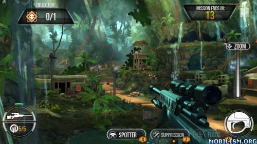Sniper X feat. Jason Statham v1.2.0 [Mod] Apk
