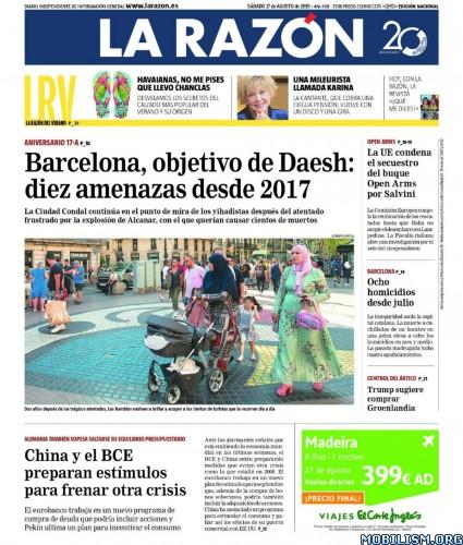 La Razón – 17 August, 2019 [ESP]
