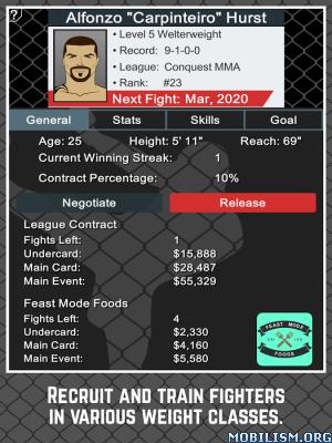 MMA Manager v1.4 [Mod Money] Apk