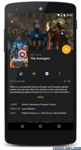 Plex for Android v5.2.0.376 [Unlocked] for Android revdl