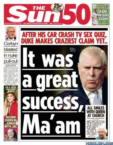 The Sun UK – 18 November 2019