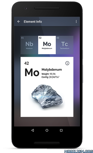 Isotope premium periodic table v1143 mobilism by getting the premium version you get an extra theme and access to detailed information about every element urtaz Gallery