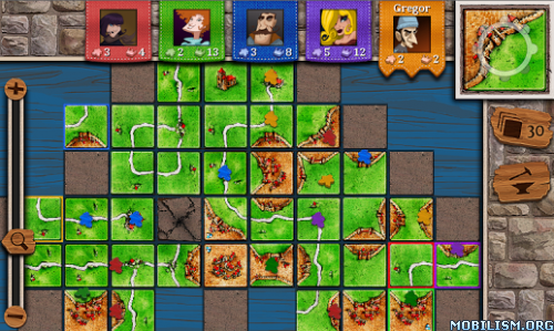 Carcassonne v2.2.2f80641 [All Expansions Unlocked] Apk