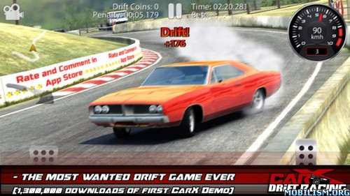 CarX Drift Racing v1.3.8 (Unlimited Coins/Gold) Apk
