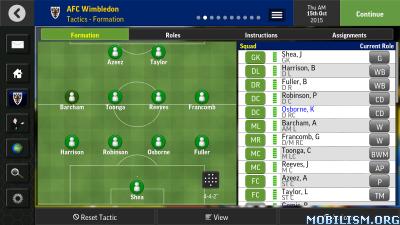Football Manager Mobile 2016 v7.0.1 Apk