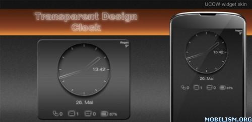 Transparent Clock UCCW skin v1.3 ?dm=182K
