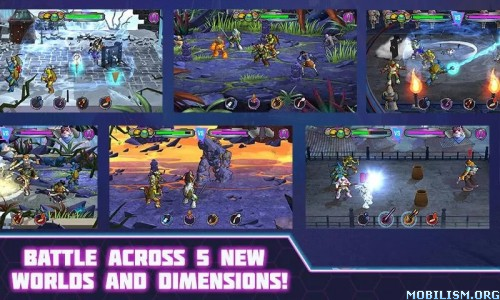TMNT Portal Power v222 (Unlocked + HP) Apk