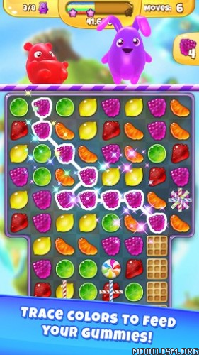 Yummy Gummy v2.1.0 (Mod) Apk