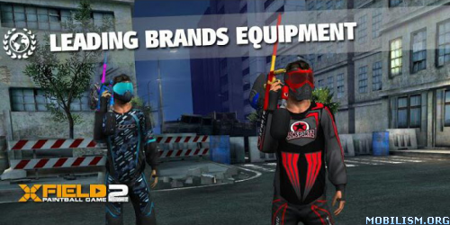 The first 3D paintball and airsoft game for mobiles & tablets.