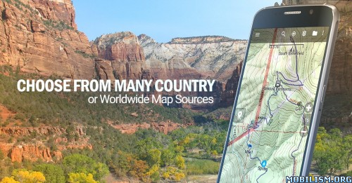 BackCountry Navigator TOPO GPS V Download APK - Us topo maps app wont download maps