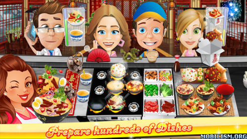 The Cooking Game v1.7.4 (Mod Money) Apk