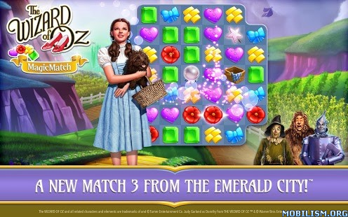 The Wizard of Oz Magic Match v1.0.1271 (Mod Lives/Boosters) Apk