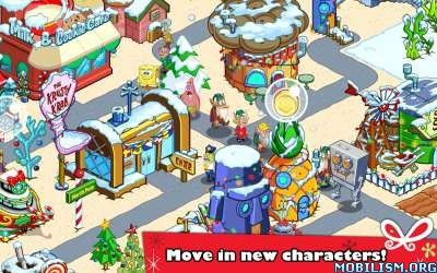 SpongeBob Moves In v4.35.00 [Mod Money] Apk
