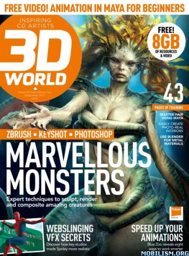 Download ebook 3D World UK – September 2017 (.PDF)