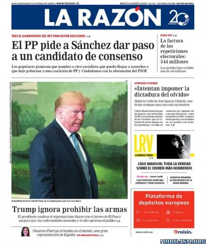 La Razón – 06 August, 2019 [ESP]