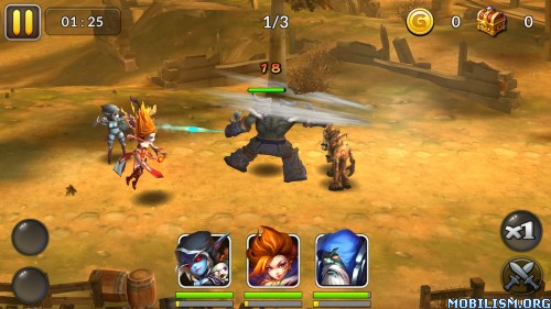 Heroes & Titans: Battle Arena v1.5.0 (Mod) Apk