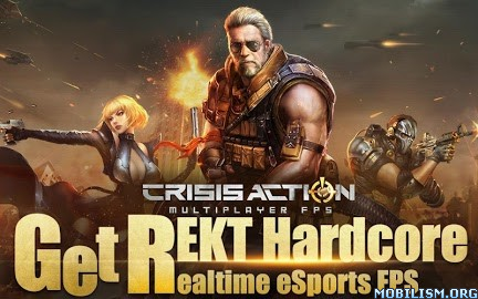 Crisis Action-FPS eSports v1.9 Latest Mod Apk Android