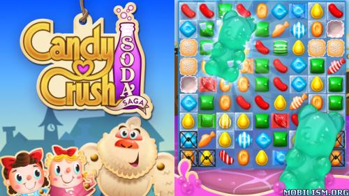 Candy Crush Soda Saga v1.75.5 [Mods] Apk