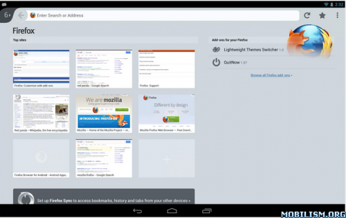 Firefox Browser for Android v28.0.1 Final