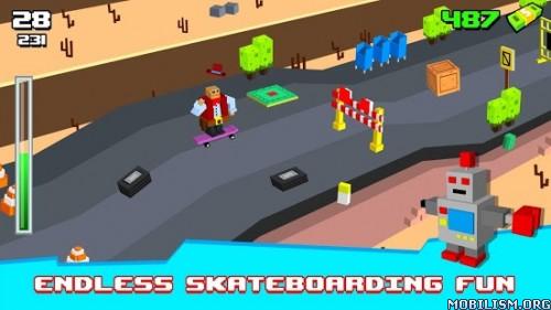 Skatelander: Skateboard life v40 (Mod) Apk