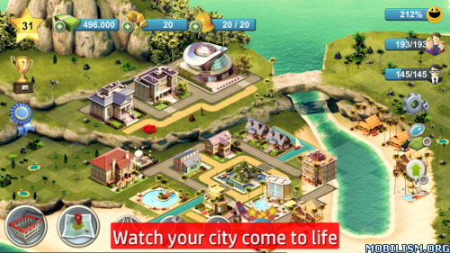 City Island 4: Sim Town Tycoon v1.0.6 (Mod Money) Apk
