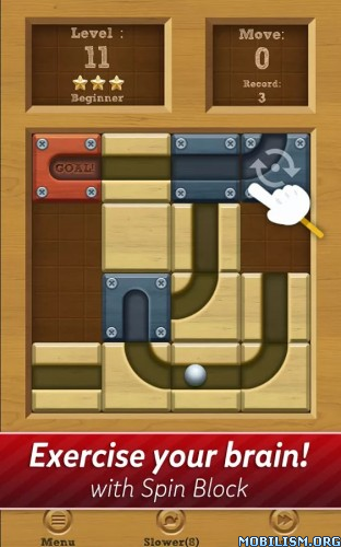 Roll the Ball: slide puzzle v1.4.43 (Mod) Apk