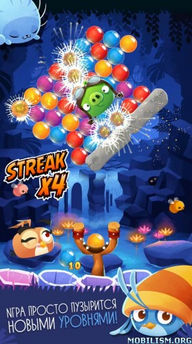 Angry Birds POP Bubble Shooter v2.26.0 (Mod Gold/Live/Boost) Apk
