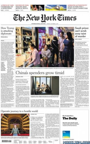 International New York Times – 04 October 2019