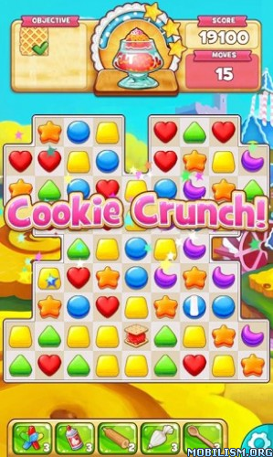 Cookie Jam v5.0.227 (Mods) Apk