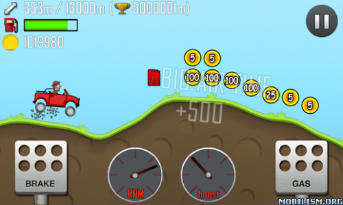 Hill Climb Racing v1.30.7 (Free Shopping) Apk