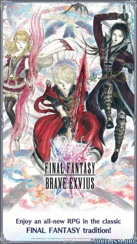 Final Fantasy Brave Exvius v1.1.2 [Mods] Apk