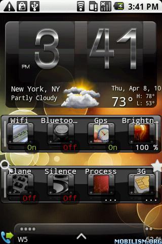 ������ ����� ������ ����� Weather & Toggle Widget v7.13 ���������