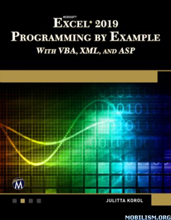 Microsoft Excel 2019 Programming by Julitta Korol
