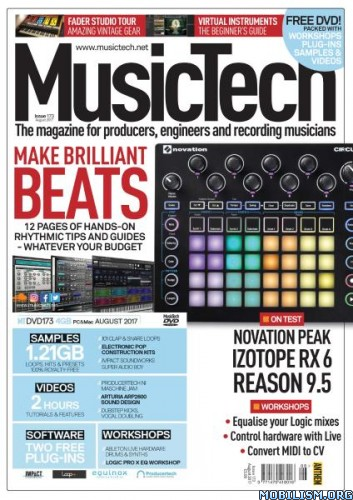 Download ebook MusicTech - August 2017 (.PDF)
