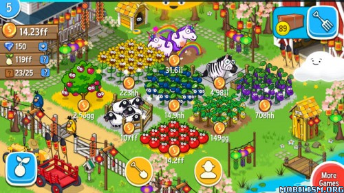 Farm Away! - Idle Farming v1.2.8 (Mod Money) Apk
