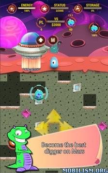 Digger Battle for Mars & Gems v1.1 [Mod Money/Ad-Free] Apk