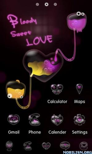 Bloody Sweet Love Go Theme V10 Htcmania