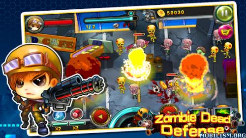 Zombie Dead Defense v1.1 (Mod Money) Apk