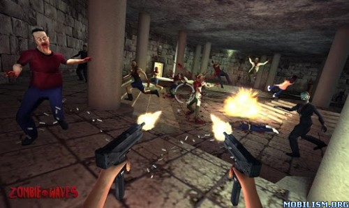 Zombie Waves 3D v1.05 (Mod Money) Apk