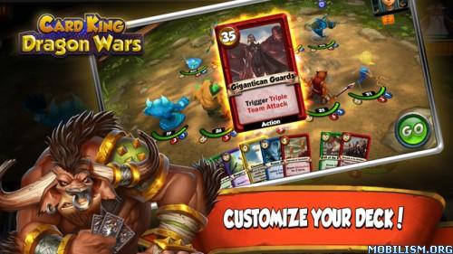Card King: Dragon Wars v1.1.9 [Mod] Apk