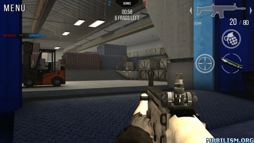 Modern Strike Online v0.08 (Mod Ammo) Apk