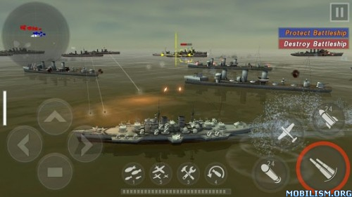 WARSHIP BATTLE:3D World War II v2.0.8 Apk