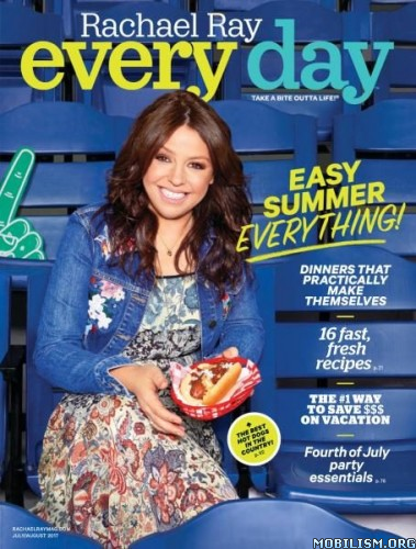Download ebook Rachael Ray Every Day - July/August 2017 (.PDF)
