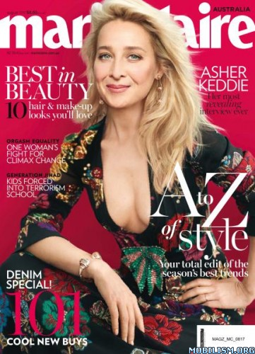 Download ebook Marie Claire Australia - August 2017 (.PDF)