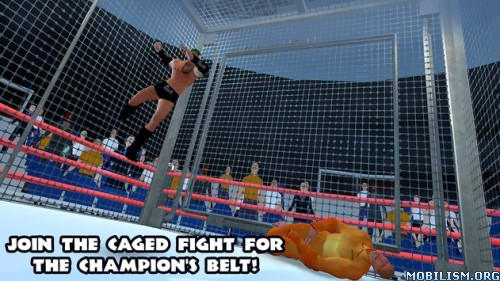 Wrestling Fighting Revolution v1.0 (Mod Money) Apk